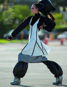 vogue paris on the run5